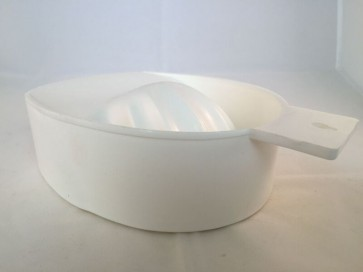 Deep Manicure Bowl White
